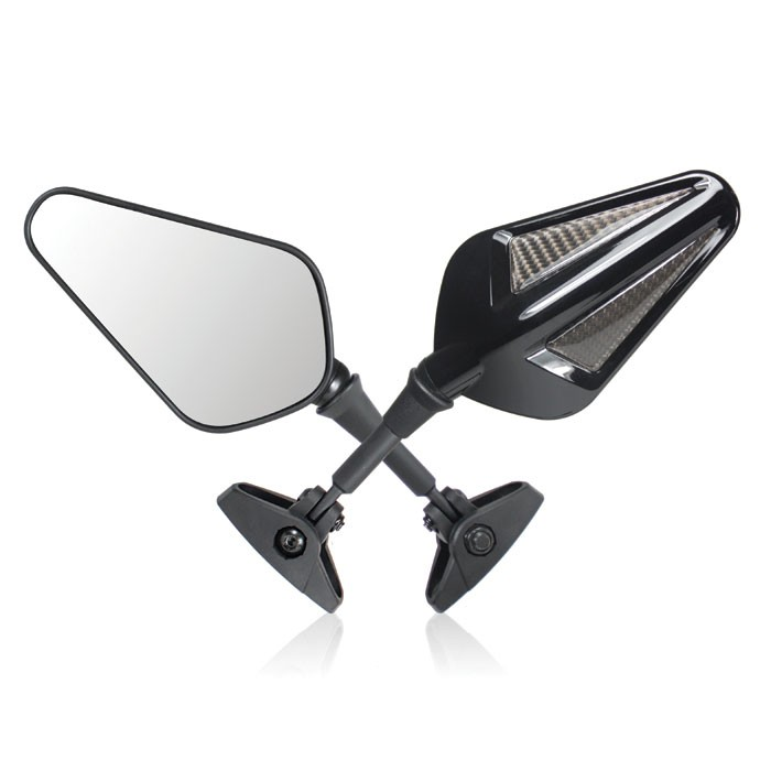 CHAFT Universal BLONDY FAIRING pair of rear-view mirrors for fairing motorcycle CE approved - IN135