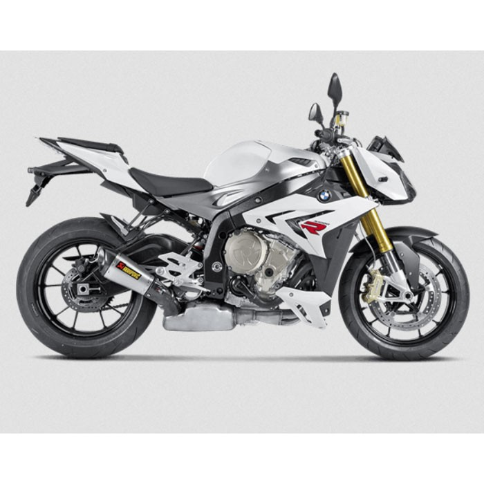 AKRAPOVIC BMW S1000 R 2014 2016 TITANIUM exhaust silencer muffler CE approved SLIP-ON 1811-2226