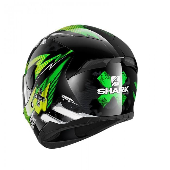 D-Skwal 2 Penxa KGY L Shark Motorradhelm