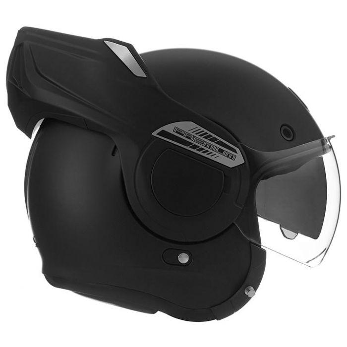 NOX STRATOS modular in jet helmet moto scooter matt black