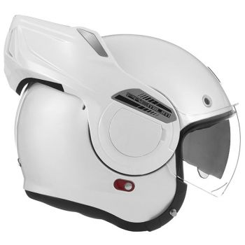 NOX STRATOS modular in jet helmet moto scooter gloss white