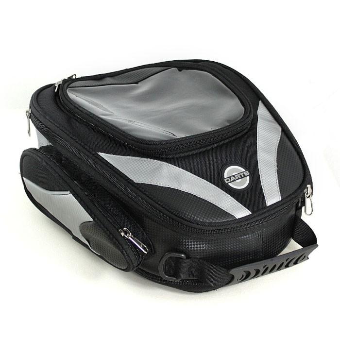 HARISSON NOMADE magnetic tank bag expansible 21 to 28L - DA204