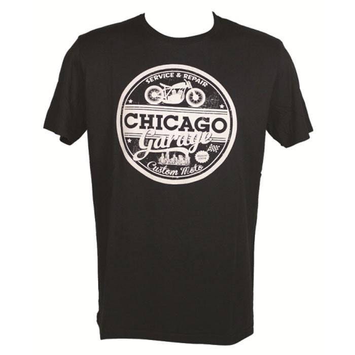 CHAFT CHICAGO motorcycle SPORTSWEAR man t-shirt tshirt CA011