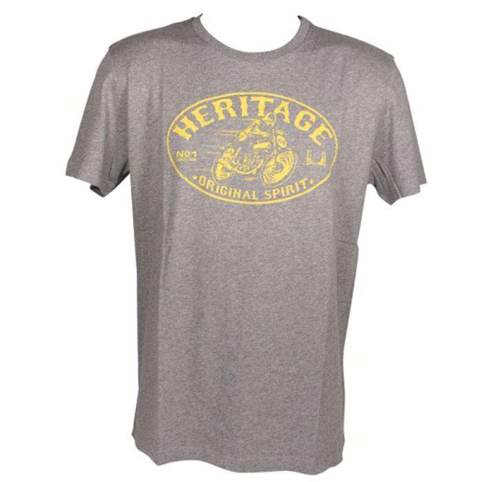 CHAFT HERITAGE motorcycle SPORTSWEAR man t-shirt tshirt CA014