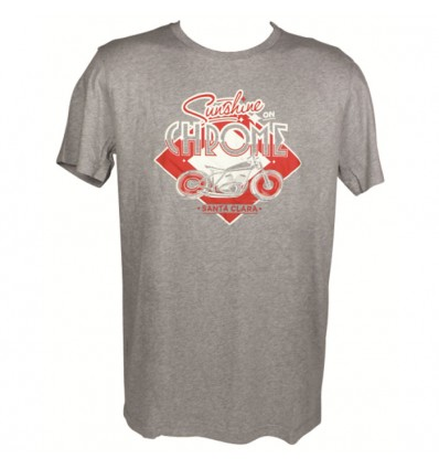 CHAFT SUNSHINE motorcycle man t-shirt tshirt CA019
