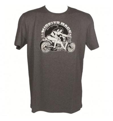CHAFT MISFIT'S motorcycle man t-shirt tshirt CA021