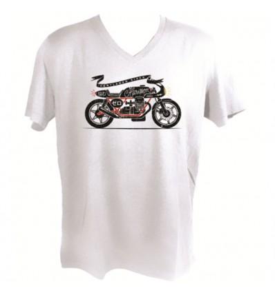 CHAFT ZERO motorcycle SPORTSWEAR man t-shirt tshirt CA023