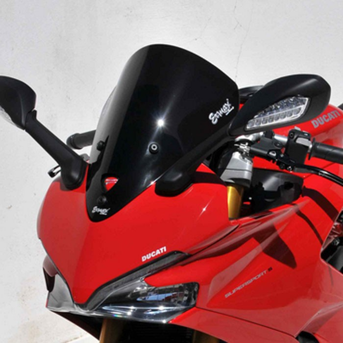 ducati 939 SUPERSPORT and S 2017 2019 AEROMAX double curve windscreen - 39cm