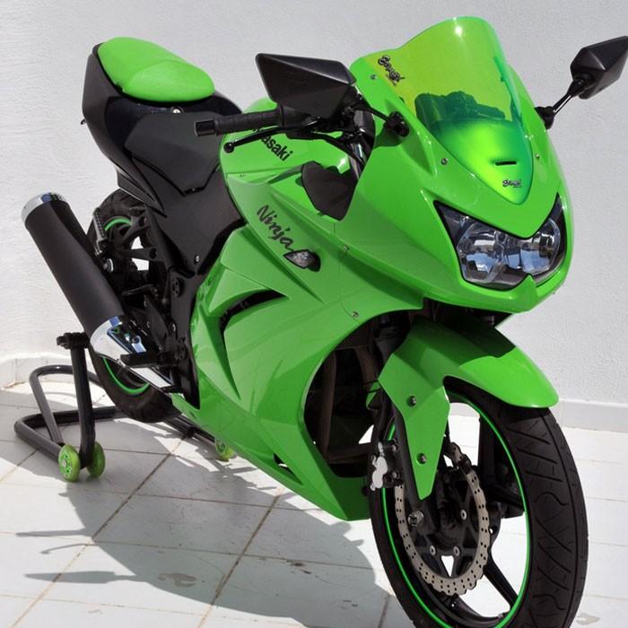 kawaski Ninja 250 R 2008 to 2012 aeromax windscreen 36cm