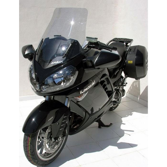 kawasaki GTR 1400 2007 to 2009 high protection windscreen - height 54cm