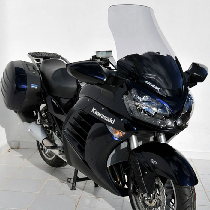 kawasaki GTR 1400 2010 to 2014 high protection windscreen - height 64cm
