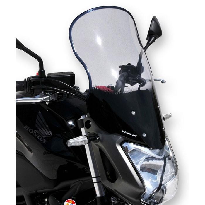 honda NC 700 S 2012 2013 bulle HP +20cm haute protection 46cm