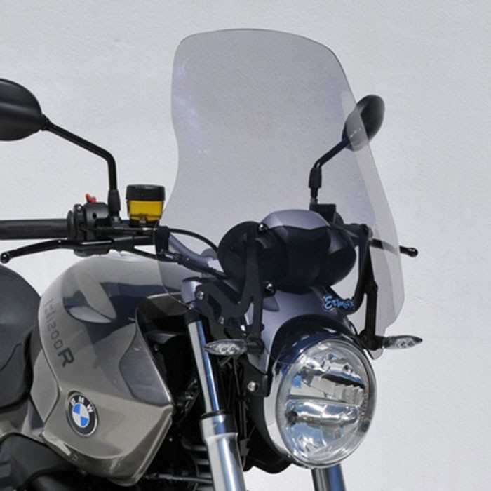 bmw R1200 R 2011 to 2014 high protection windscreen 50.5cm