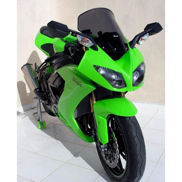 kawasaki ZX6R Ninja 2009 to 2016 ermax HP +5cm windscreen