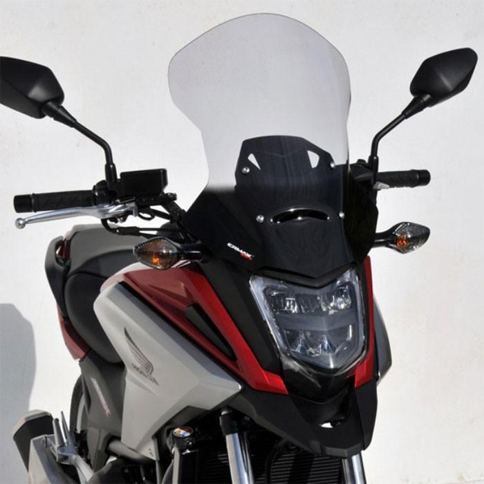 honda NC 750 X 2016 2020 bulle touring HP +10cm - hauteur 48cm