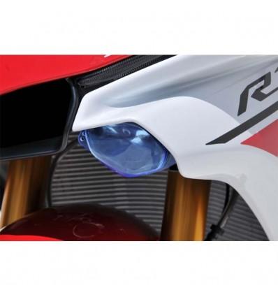 yamaha YZF R1 2015 2019 paire de bulles de phare design moto