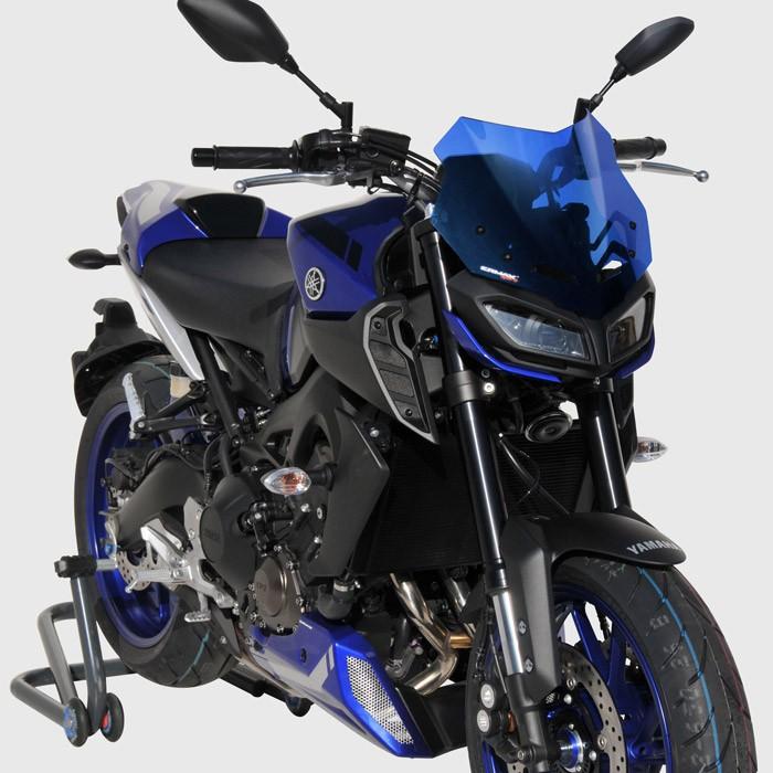 Ermax Yamaha MT09 2017 2020 saute vent bulle SPORT - 29cm