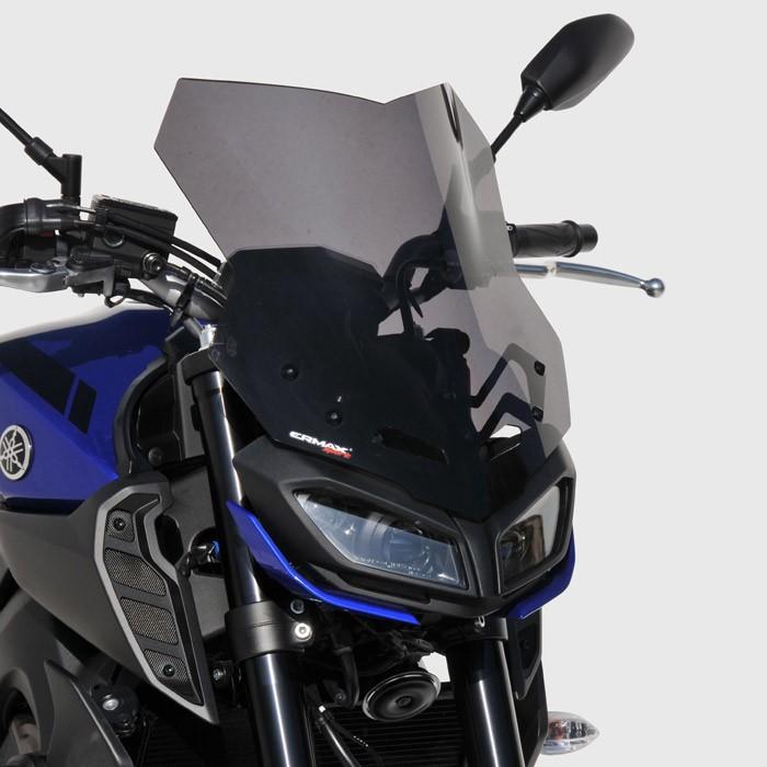 Ermax Yamaha MT09 2017 2020 touring windscreen - 38cm
