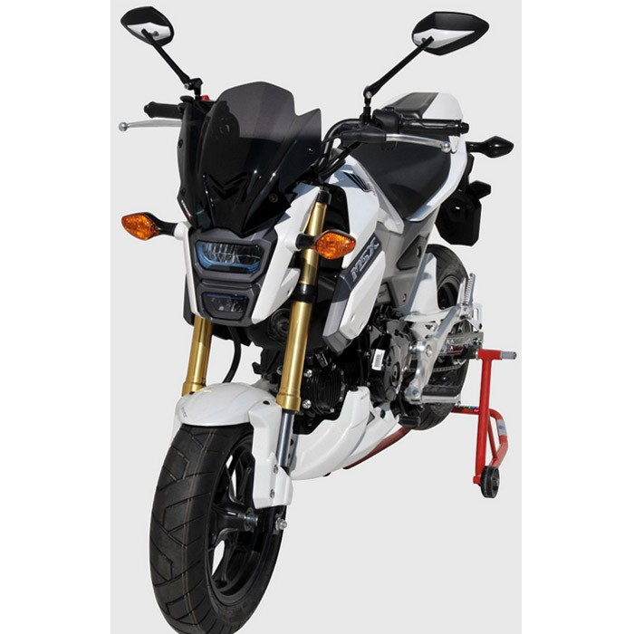 ermax honda msx 125 sf 2016 2017 capot de selle brut. Black Bedroom Furniture Sets. Home Design Ideas