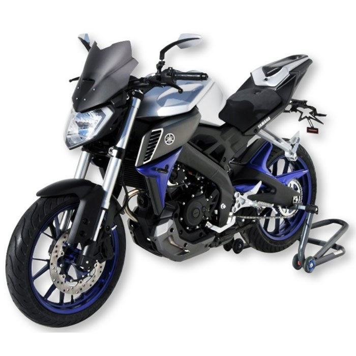 ermax yamaha mt 125 2014 2015 2016 2017 capot de selle brut peindre. Black Bedroom Furniture Sets. Home Design Ideas