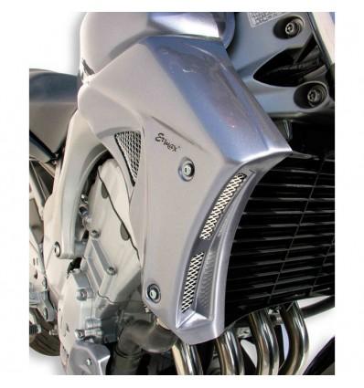 yamaha FZ6 N S2 2004 à 2010 écopes de radiateur BRUT