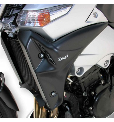 suzuki GSR 600 2006 à 2011 ecopes de radiateur BRUT