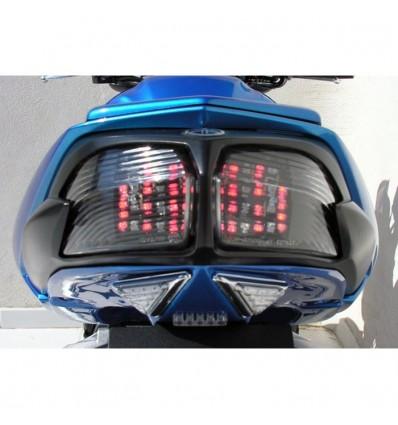 yamaha FZ1 N & FZ1 Fazer 2006 à 2015 feu arrière LED avec clignotants intégrés