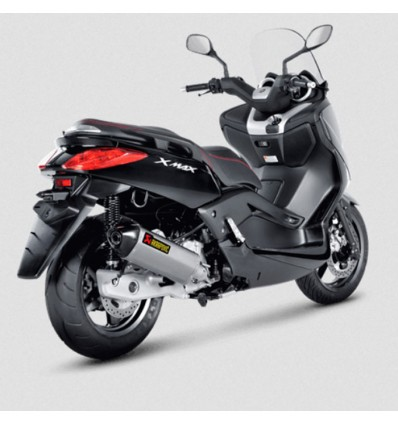 AKRAPOVIC Yamaha XMAX 125 ABS 2011 2016 pot d'échappement INOX homologué CE SLIP-ON 1811-2986