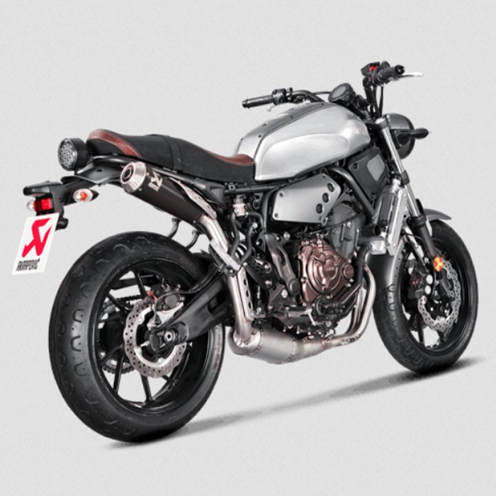 akrapovic xsr700. Black Bedroom Furniture Sets. Home Design Ideas