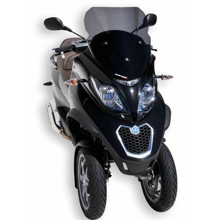 piaggio mp3 125 300 500 touring sport business 2011 2018 pare brise aeromax double galbe 50. Black Bedroom Furniture Sets. Home Design Ideas
