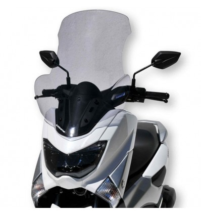 ERMAX yamaha 125 NMAX N MAX 2015 2019 HP windscreen + hands protections - 68cm
