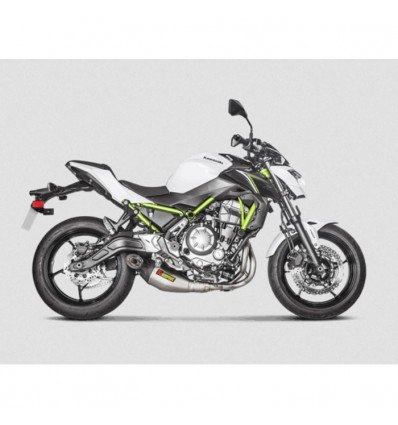 AKRAPOVIC Kawasaki Z650 2017 2019 ligne complète RACING en TITANE pot d'échappement homologué EURO 4 1810-2411