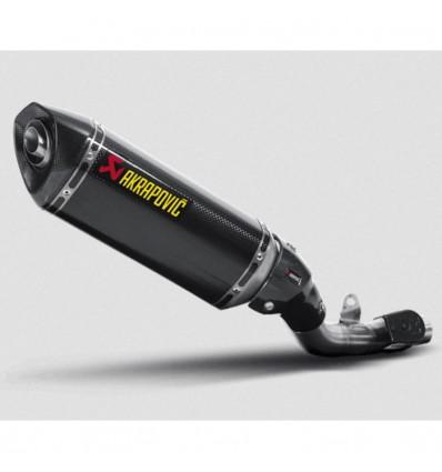 AKRAPOVIC kawasaki Z800 2013 2016 CARBON exhaust silencer muffler CE approved SLIP-ON 1811-2966