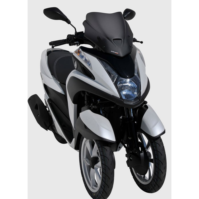 yamaha 125 tricity 2014 2015 2016 2017 pare brise bulle sport 35cm. Black Bedroom Furniture Sets. Home Design Ideas