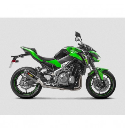 AKRAPOVIC kawasaki Z900 2017 2019 pot d'échappement CARBONE homologué EURO 4 SLIP-ON 1811-3293
