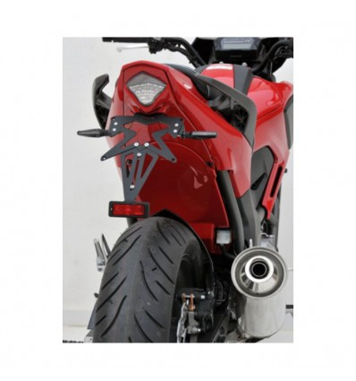 honda NC 700 X 2012 2013 passage de roue PEINT avec feu AR led
