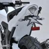 honda NC 750 S 2014 2015 passage de roue PEINT avec feu AR led