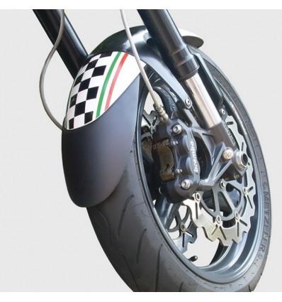 Honda CB500 F 2016 2018 extension of FRONT mudguard black