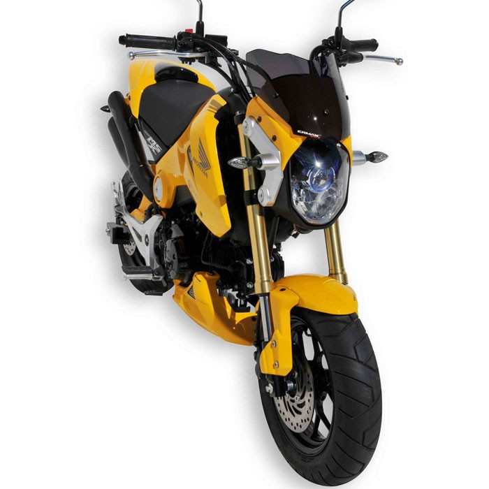 honda msx 125 2013 2016 t te de fourche peint saute vent. Black Bedroom Furniture Sets. Home Design Ideas
