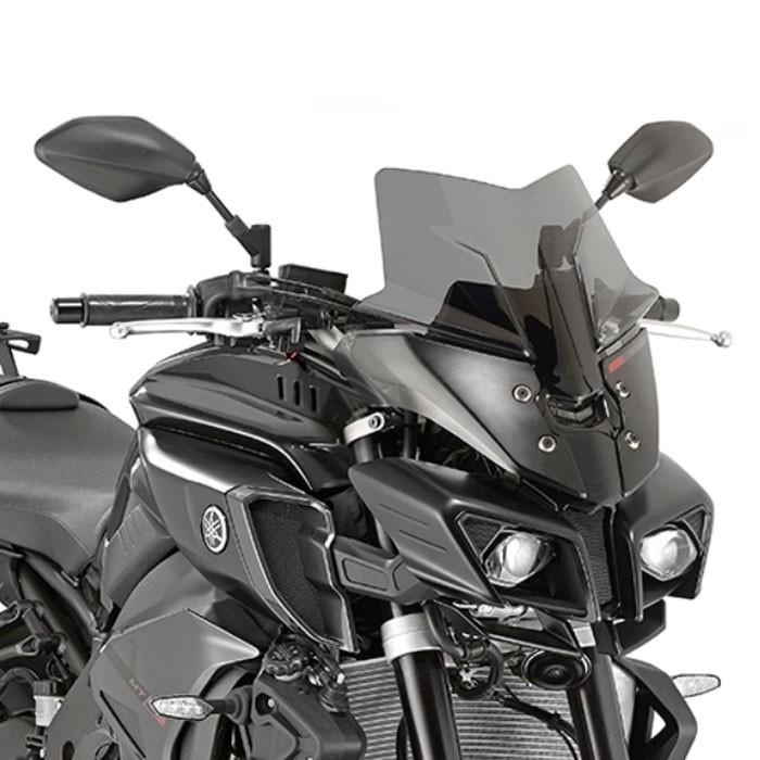 GIVI Yamaha MT10 2016 2019 short and sport windscreen D2129B - 36cm high