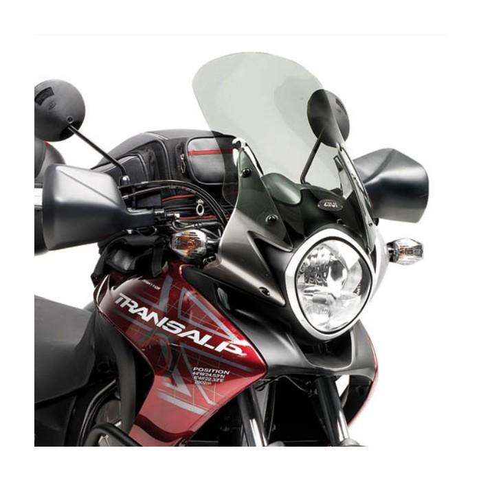 GIVI honda XL 700 V TRANSALP 2008 à 2013 HP windscreen D313S - 44.5cm high