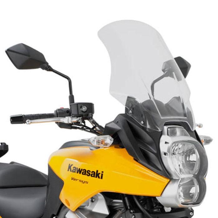 GIVI Kawasaki 650 VERSYS 2010 2014 HP windscreen D410ST - 48cm high