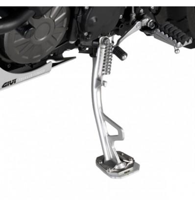 GIVI semelle en alu et inox pour béquille latérale de moto Yamaha XT 1200 ZE SUPER TENERE 2014 2019 - ES2119