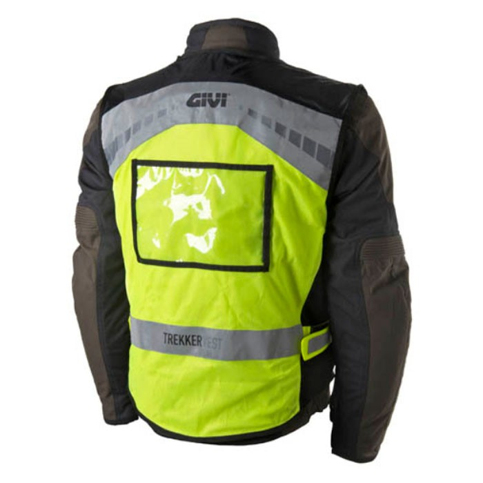 givi gilet de s curit fluo moto scooter homme femme vest01 trekker. Black Bedroom Furniture Sets. Home Design Ideas