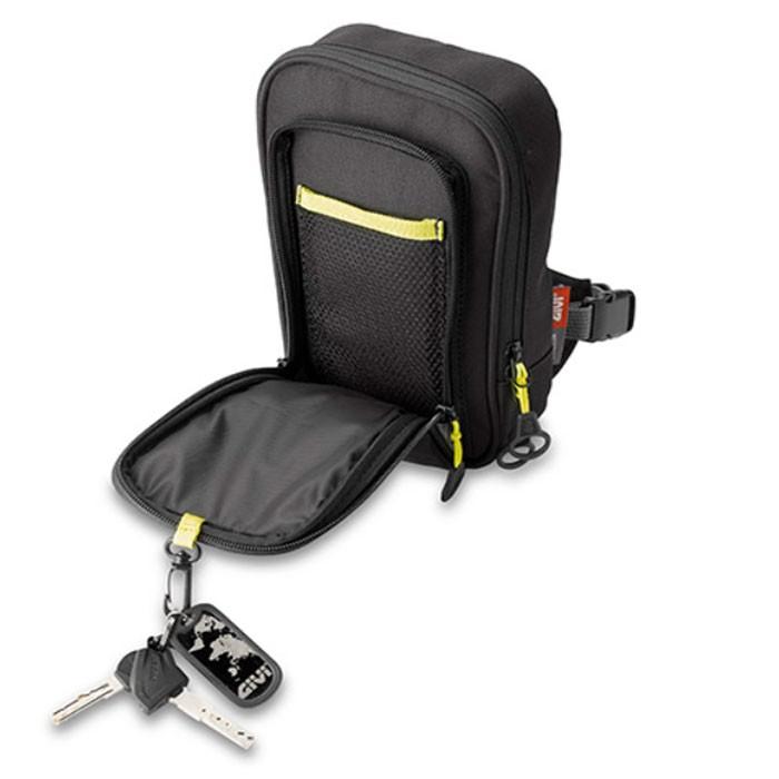 givi mini sacoche ea113b moto scooter porter sur cuisse. Black Bedroom Furniture Sets. Home Design Ideas