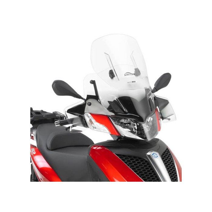 givi piaggio mp3 125 300 yourban 2011 2018 pare brise bulle hp airflow haute protection af5600 h. Black Bedroom Furniture Sets. Home Design Ideas