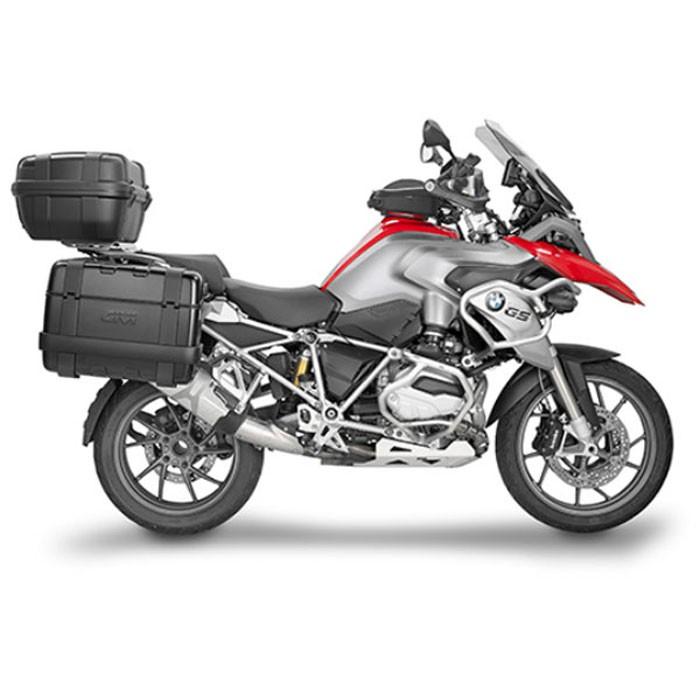givi paire de pare cylindres aluminium moto pour bmw r1200 gs 2013 2017 ph5108. Black Bedroom Furniture Sets. Home Design Ideas