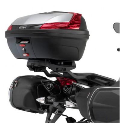 GIVI monorack 6702FZ support top case pour APRILIA 750 SHIVER 2010 à 2015 porte bagage