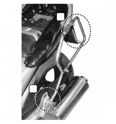 GIVI PL347 support tubulaire pour valise latérale GIVI MONOKEY Yamaha 900 TDM 2002 à 2014 porte bagage