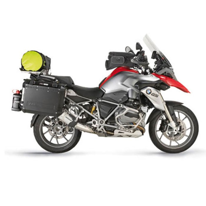 supports tubulaires valises lat rales trekker outback monokey bmw r1200 gs adventure 2014 2017. Black Bedroom Furniture Sets. Home Design Ideas